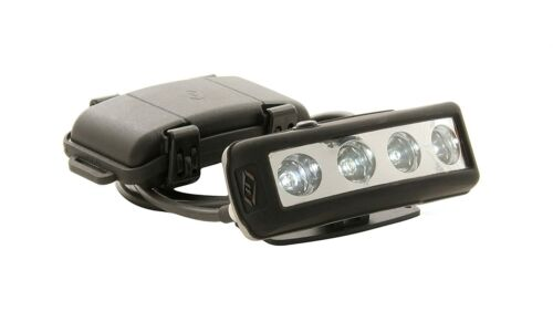 FoxFury 500-006 PRO Tasker-Fire LED Headlamp with Silicone and Elastic Strap, 30