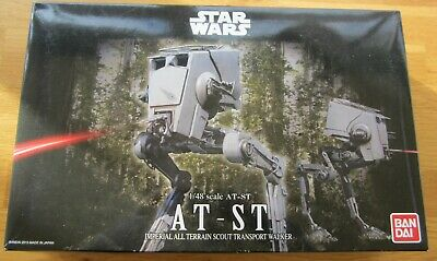 Bandai Hobby Star Wars All Terrain Scout Transport AT-ST Walker 1/48 Model Kit
