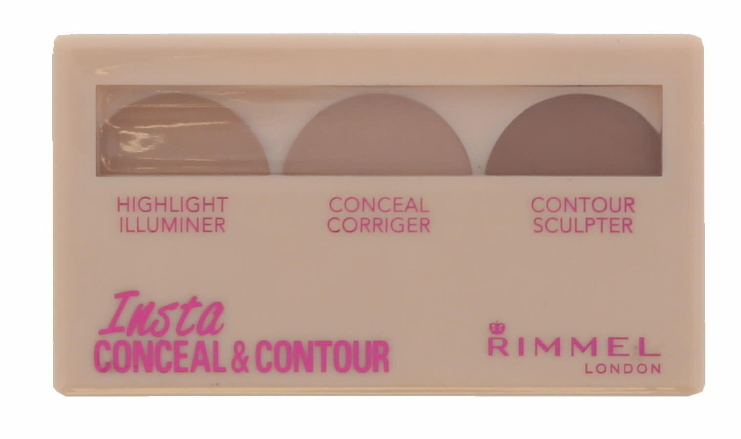 Rimmel Insta - Highlighter, Concealer & Contour Palette - Shade Medium