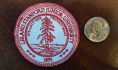 Leland Stanford Junior University Embroidered Iron On Patch 1891 2 5 034 Nice