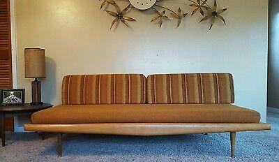 VIntage Mid Century Modern Adrian Pearsall Daybed Sofa Danish Nelson Hvidt Retro