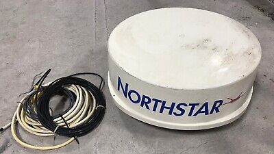 """Northstar RB715A , 24"""" Koden Marine Radar Antenna Dome with Cables"""