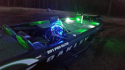Ski Deck Boat - 2PC Ultra Bright LED Boat Deck Lights Bass Pontoon Ski Interior