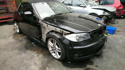 2008 – 2011 BMW 118d E88  M-SPORTS  BLACK  CONVERTIBLE WRECKING P Villawood Bankstown Area Preview