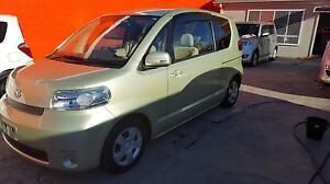 2009 Toyota PORTE - Wel Cab - Green Hatchback 3 Months Free Rego Granville Parramatta Area Preview