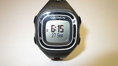 Garmin Forerunner 10  Womens GPS Running Fitness Watch Black/Silver & Charger