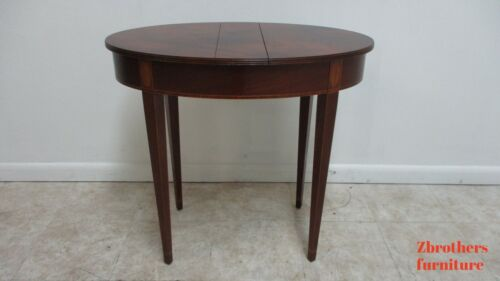 Baker Furniture Historical Charleston flip top Lamp End Table With storage