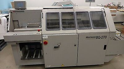 Horizon Bq-270 Perfect Binder Bourg Duplo Morgana Muller