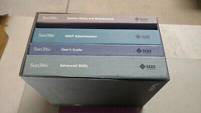Sun Microsystems i386 manuals - Rare