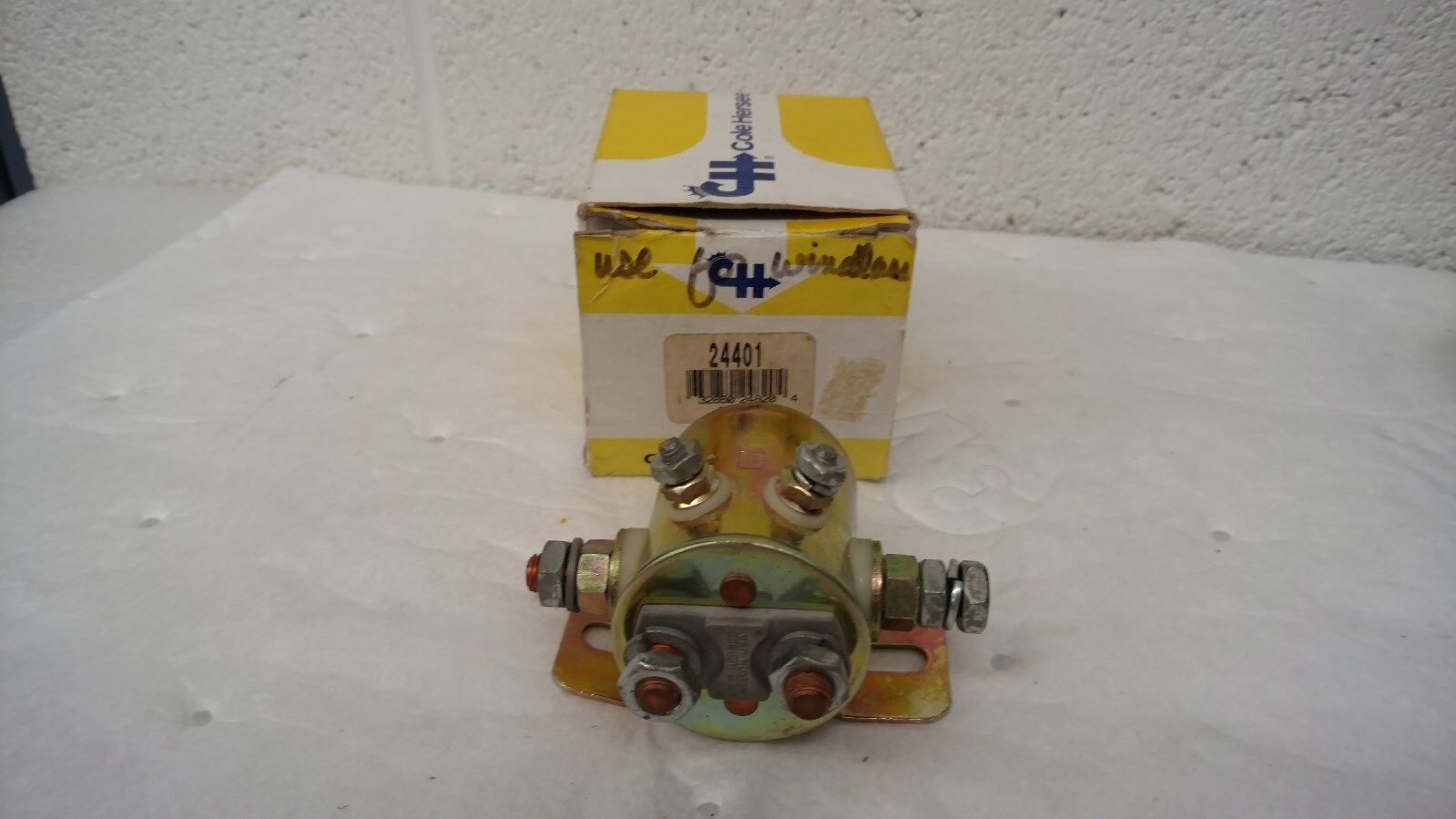 NOS OEM Cole Hersee 24401 Continuous Duty Solenoid