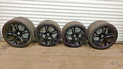 LAMBORGHINI AVENTADOR IPERIONE RIMS WHEELS SET OEM WITH TIRES