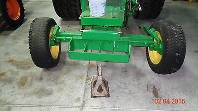 John Deere 1050 Tractor...2 Wd Front Steering Axle. No Tires Wheels