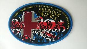 24th World Scout Jamboree 2019, Unit 20,GLMW, Sherlock Homies Supporters Badge