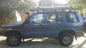 Sally, Holden Jackaroo, a backpackers dream with solar and fridge Coburg Moreland Area Preview