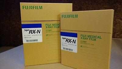 Fuji Blue Super Rx X-ray Film 8x10 Inch Box