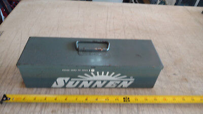 Vintage Metal Carrying Case Only Box For Sunnen An-111 Standard Cylinder Hone