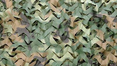 Woodland Camouflage Netting Military Surplus Camo Hunting 10 x 16 Net Shade