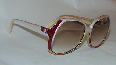VINTAGE WOMEN'S LARGE LENS CORNING SUNGLASSES! LIGHT TINT LENSES! NICE (Nice Shaped Women)