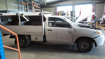 now dismantling 2007 Toyota Hilux  (stock no p150833) Para Hills West Salisbury Area Preview