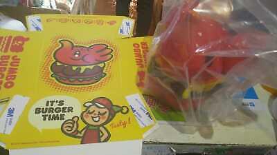 Jumbo Greenies (Unbox Greenie & Elfie Elephant Spicy Burger Jumbo Ver Vinyl Figure  )
