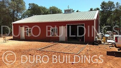 Durobeam Steel 40x40x12 Metal Frame I-beam Building Garage Shop Structure Direct