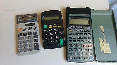 lot de 3 calculatrices