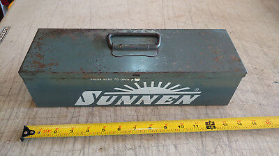 Vintage Metal Carrying Case Only Box For Sunnen Jn-95 Junior Portable Hone