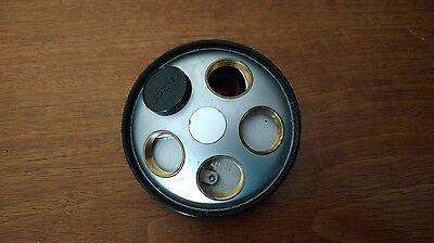 Nikon Diaphot 5 Objective Nose Piece Turret Quintuple