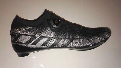 Zapatillas ciclismo DMT KR1 Negro/Reflectante 43 - Desarrollada por Elia Viviani