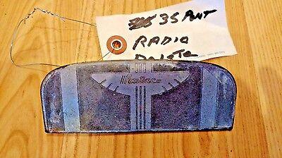 1935 Vintage Pontiac Radio Delete
