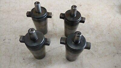 Lot Of 4 Universal 300 Kwik Switch Jt3 Jacobs Taper Drill Chuck Arbor 80352