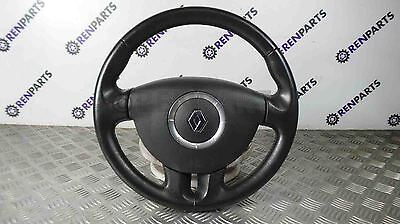 Renault Espace IV 2006-2009 Steering Wheel + Drivers Airbag 4 Spoke