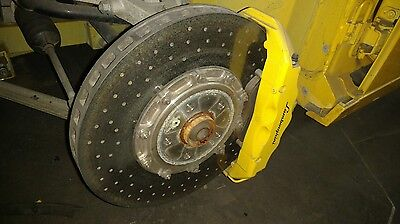 Lamborghini Gallardo Front Left Carbon Ceramic Brake Disc Rotor Oem 400615301E