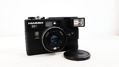 Vintage HANIMEX 35F 35mm film point and shoot camera lomo retro
