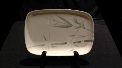 "Vintage 1947 Winfield China Bamboo Rectangular 11"" Serving Platter"