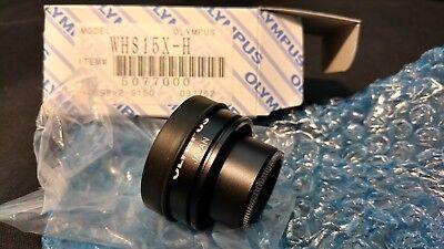 Olympus Whs15x-h Objective Microscope Lens Nos Bin 109.99 - Free Ship