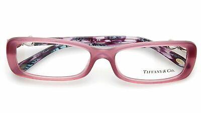 New Tiffany & Co. TF 2058 8136 Plum Opal RX Prescription Eyeglasses 54mm (Tiffany And Co Prescription Glasses)