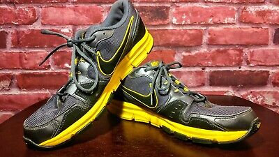 Men's Nike Airflex Trainer Grey Yellow 429632-001 Size 13 PreOwned