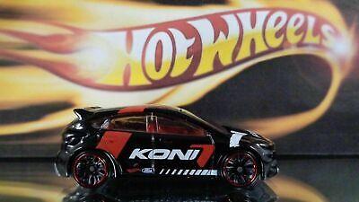 2017 Hot Wheels Ford Focus RS #176 H Case - Black