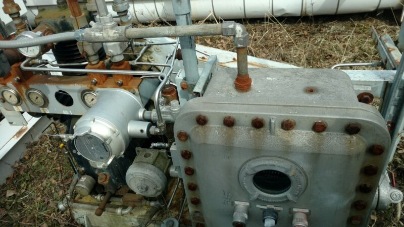Look!!! Ingersoll Rand CNG Compressor 20 CFM New condition 1161HRS