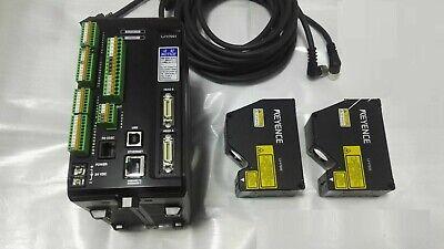 Keyence Lj-v7001lj-v7020 With Cable Laser Displacement Sensor Working