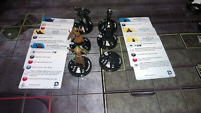 Heroclix Lot of 6 with Mystical keyword from the World's Finest Set
