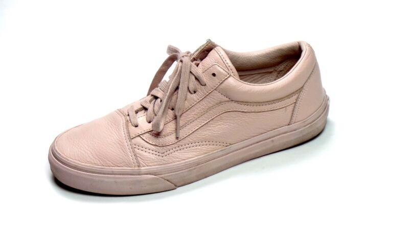 d9754d2ec0f9 Vans Leather Old Skool Shoes Pink Mono Sepia Rose Unisex Classic Men 8.5  Wmn 10