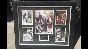 AC/DC limited edition wall frame Traralgon Latrobe Valley Preview