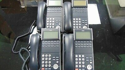 4x Nec Dt730 Itl-12d-1 Ip Display Phone 690002 A-stock Refurbished