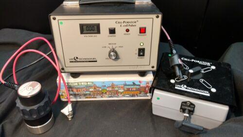 Life Technologies Cell-Porator E Coli Pulser Chamber Safe Single Safe BIN $189