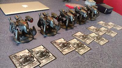 Rackham AT-43 Wraith Golgoth Unit (Black) Sci-fi blame SALE!! RPG Wargame Walker