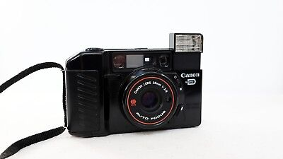 CANON Sure Shot AUTOBOY 2 QD 35mm film point and  shoot camera lomo retro