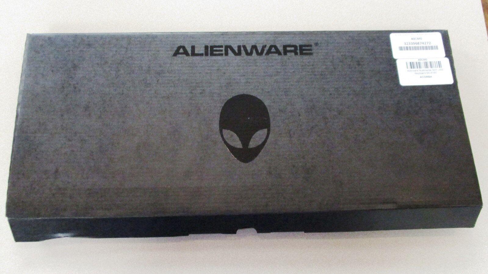 NEW Dell AlienWARE Multimedia Black USB Keyboard SK-8165 H9Y