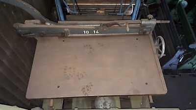 Schlagschere Fasti ordentlicher Zustand für Bleche bis zu 1,5mm